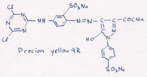 structure ofyellow 4R