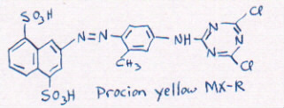 structure of yellow R